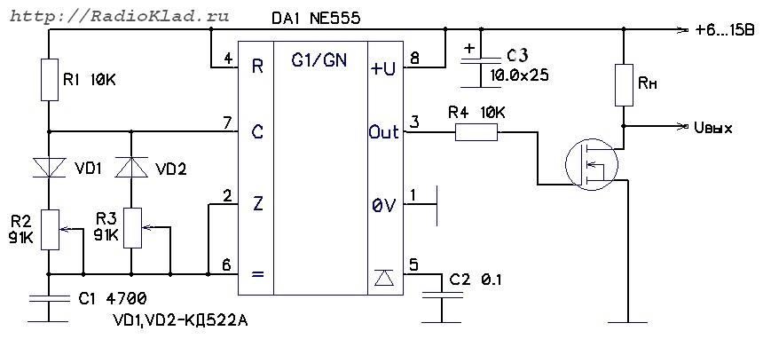Принципиальная электрическая схема блока питания bbk 214 si.