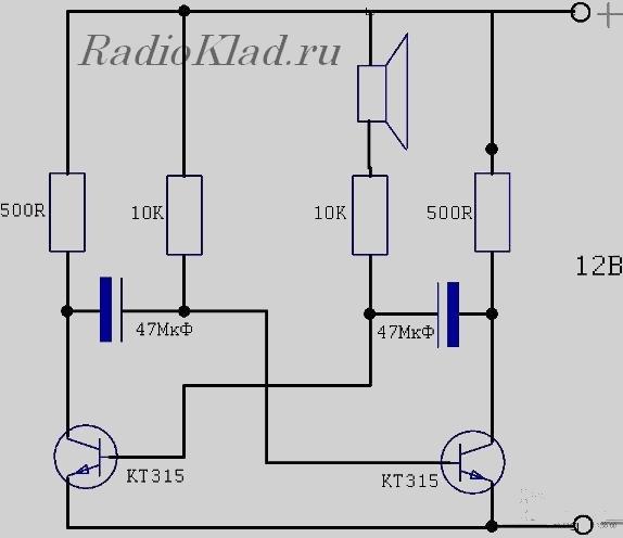 любого транзистора между